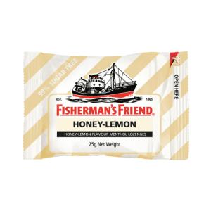 Fishermans Friend Mints Extra Strong Menthol Lozenges Honey Lemon 25g X 12 Units
