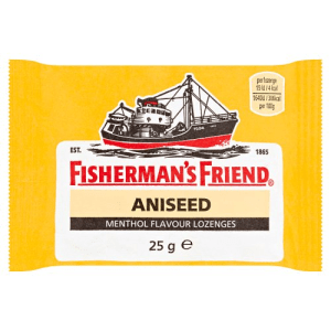 Fishermans Friend Mints Extra Strong Menthol Lozenges Aniseed 25g X 12 Units