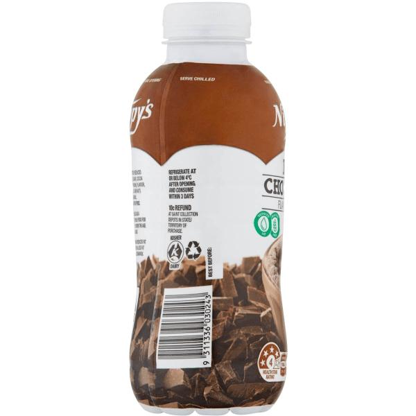 Nippys Iced Chocolate Flavoured Milk Bottle 500ml X 6 Bottles