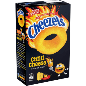 Cheezels Chilli Cheese Chips Snack Box 110g