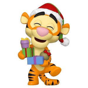 Disney Winnie The Pooh Tigger Flocked Christmas Holiday Pop! Vinyl [Preorder]