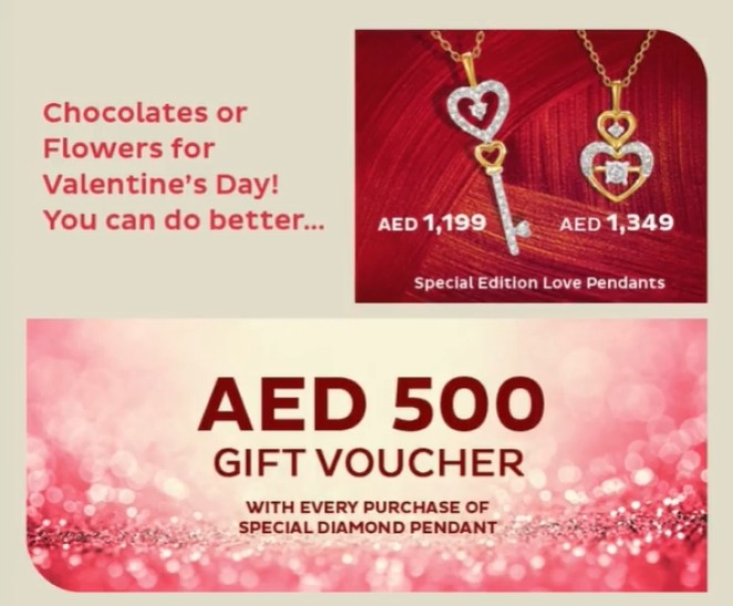 Valentines Day Offer by Pure Gold Jewellers