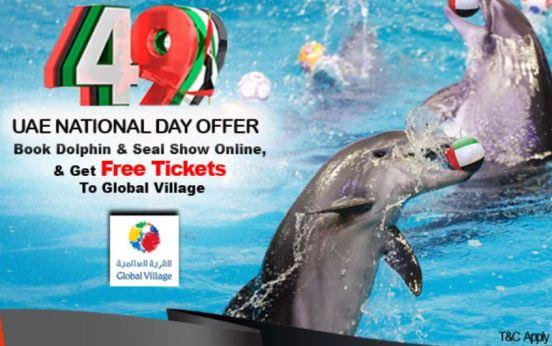 Dubai Dolphinarium UAE National Day Offer