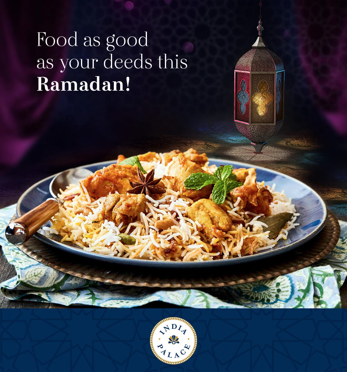 India Palace Restaurant Ramadan Offer