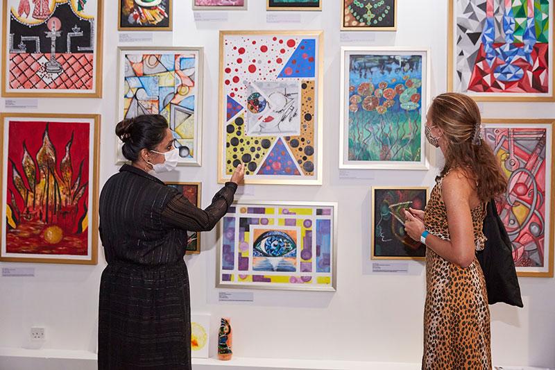 Visit and purchase art at World Art Dubai