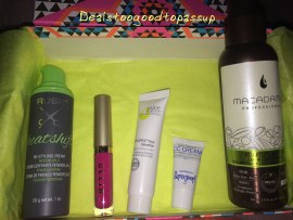 Birchbox Box 3 July 2015