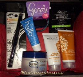 Target Beauty Box October 2015 2
