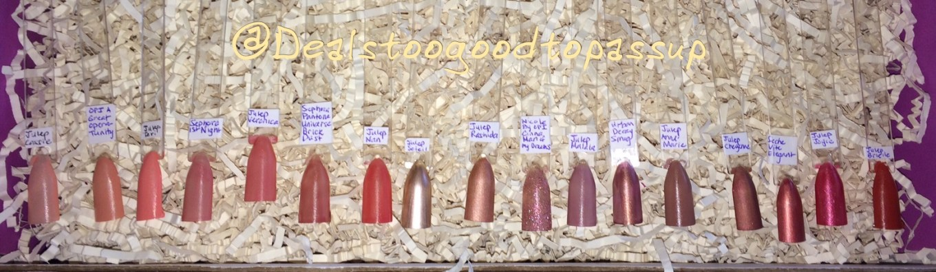 Nail Polish Swatches Salmons and Wines