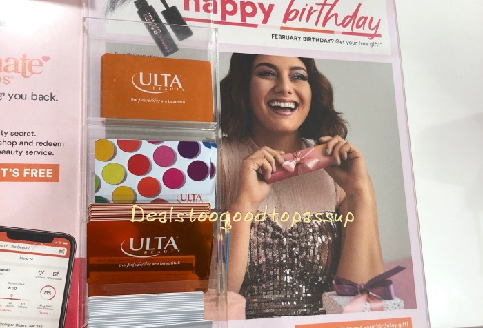 Free Ulta Birthday Gift 2020 February Benefit Cosmetics