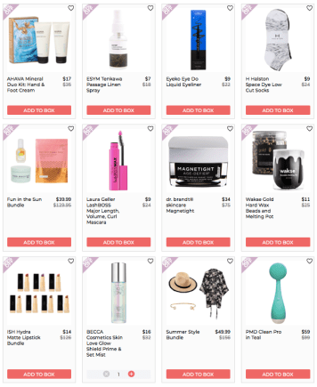 FabFitFun Add-Ons Schedule 2020 List of Products Summer