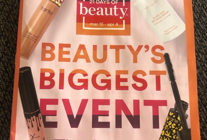Ulta 21 Days of Beauty 2020 Spring Sale