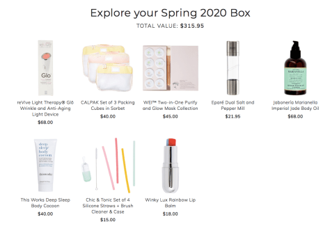 FabFitFun Spring 2020 Subscription Box Review 1