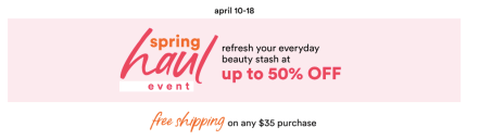 Ulta Spring Haul Event 2020