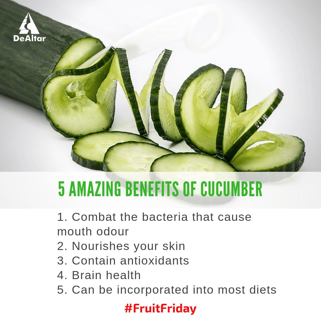 5 Amazing Benefits Of Cucumber