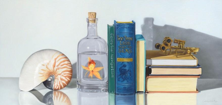 Verne themed stilllife