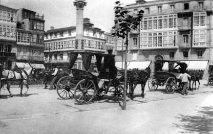 COCHES DE ALQUILER. 1900