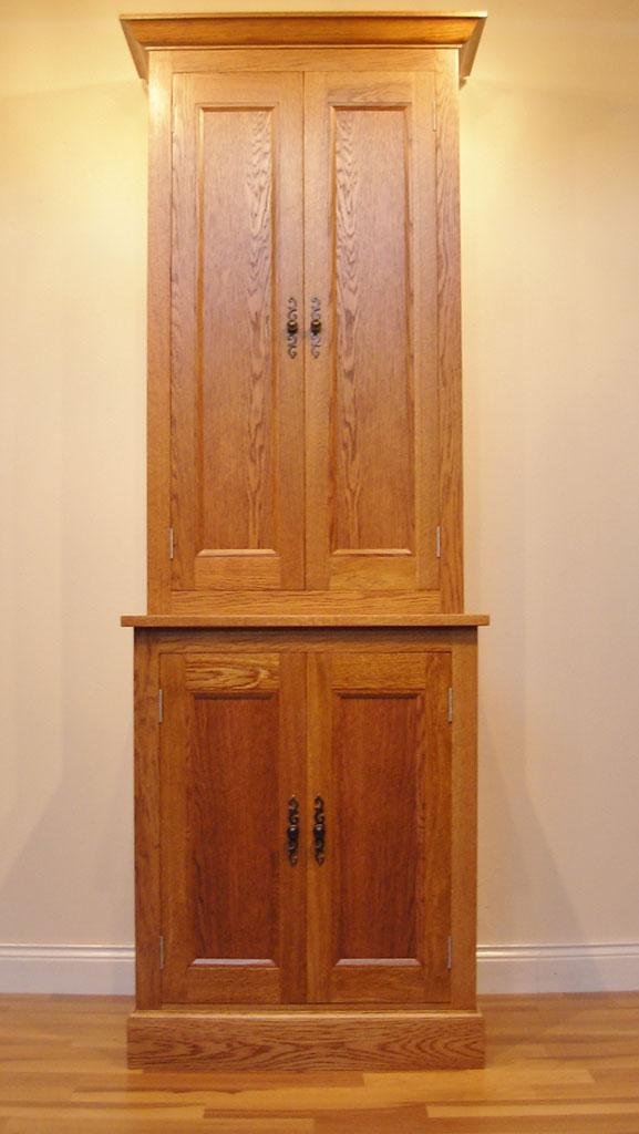 Deanery Bespoke Freestanding Oak Larder Unit Deanery Furniture