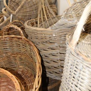 Large selection of baskets