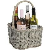 Bottle carrier basket