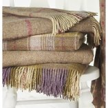 Luxury Throws available at Dean Forge Showroom