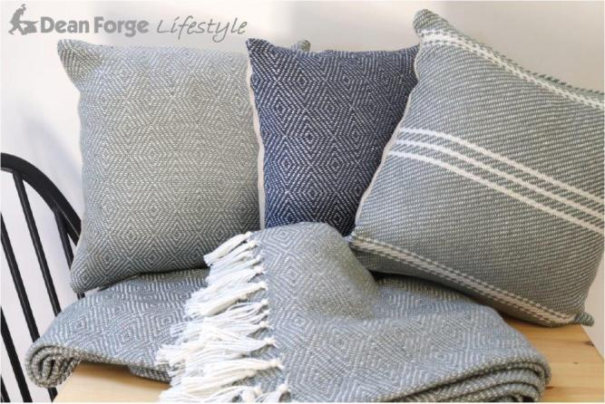 Luxury cushions made entirely from recycled plastic bottles, stain resistant and as soft as wool.