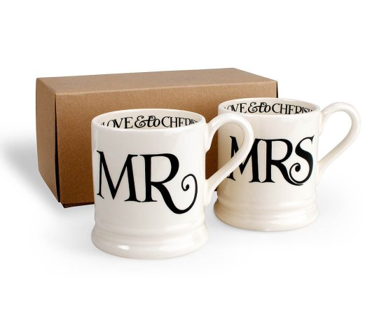 EEmma Bridgewater Mr and Mrs