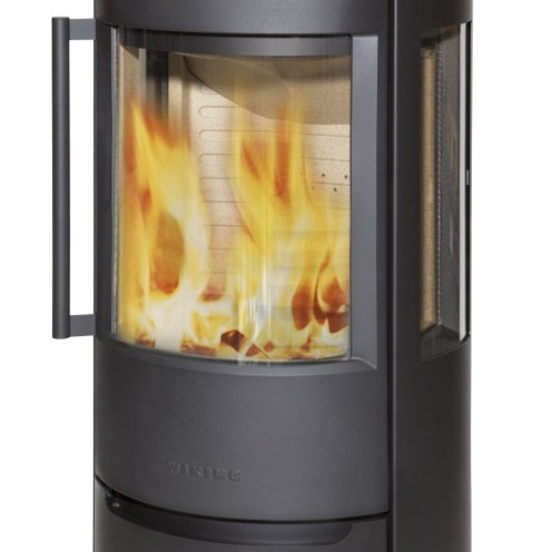 Wiking Luma 5 includes heat store above the combustion chamber.