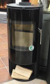 Morso S10-40 woodburning stove with Open Base Avg Output 5kw £1371.00 inc vat rrp £1714.00inc vat