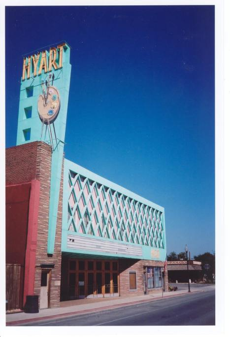 Hyart Theatre, U.S. 14, Lovell, WY - still in operation (since 1950)