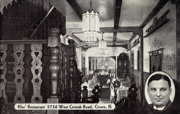 original dining room postcard