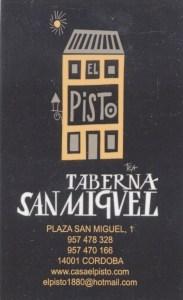 Casa El Pisto card 1