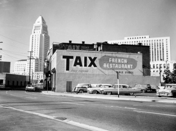 original Taix - photo by L.A. Public Library Archives
