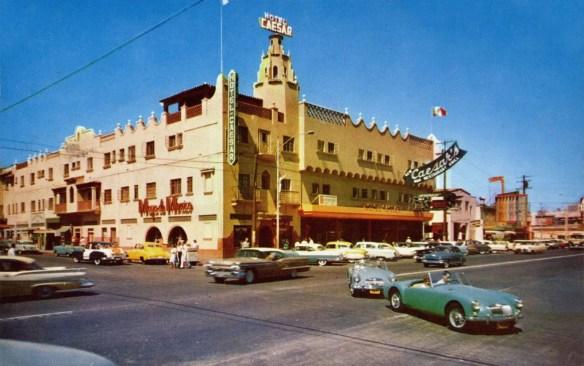 Hotel Caesar, 1950s postcard