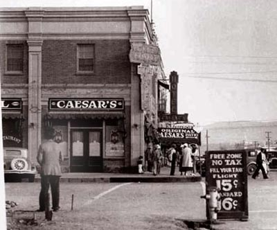 Original Caesar's Place restaurant, c. 1930 - image by The Kitchen Project