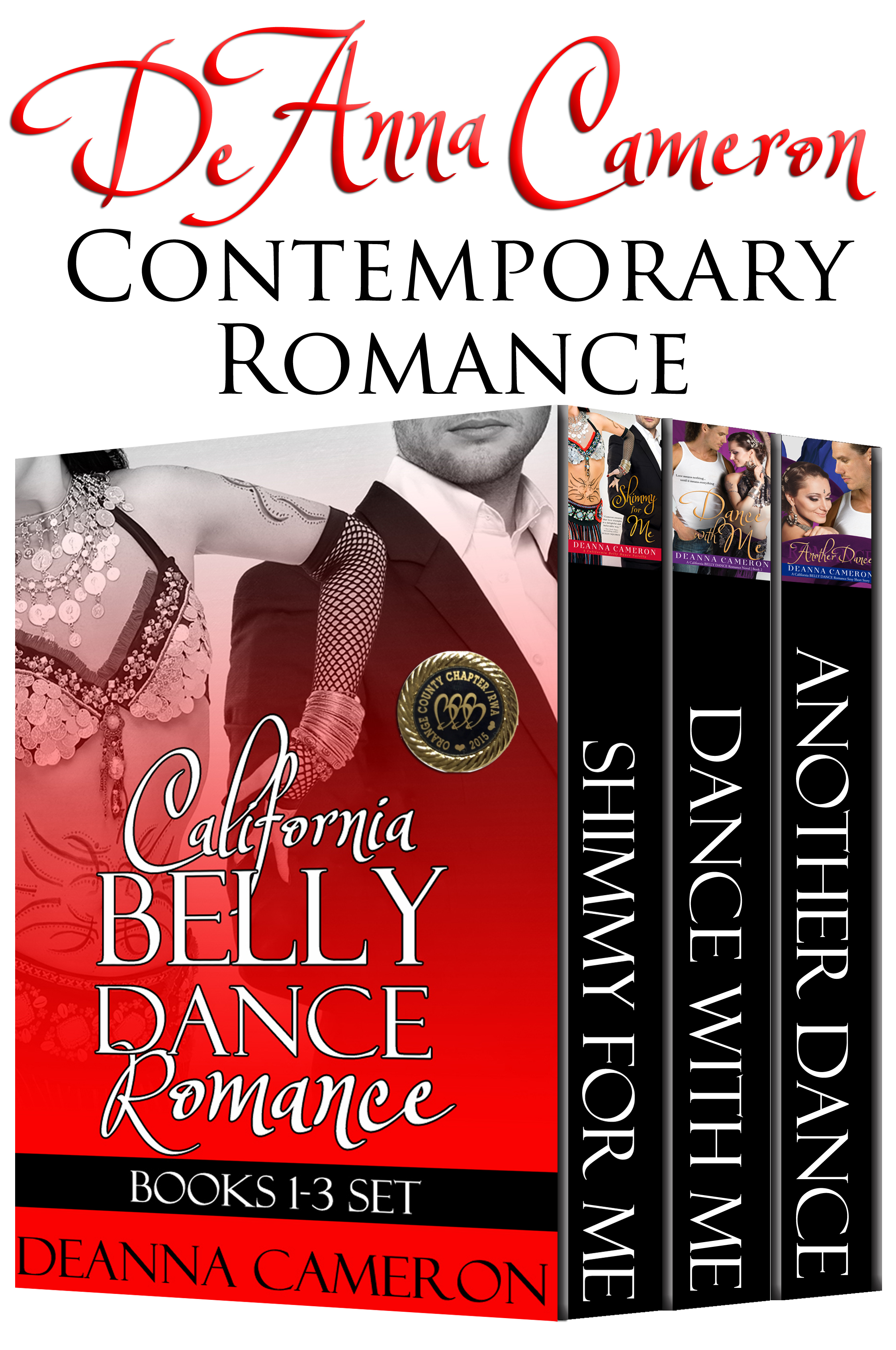 California Belly Dance Romance Collection Books 1-3