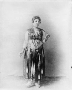 An Egyptian dancer. Credit: Photographer unknown via Wikicommons