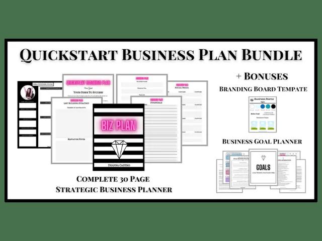 Quickstart Business Plan Bundle