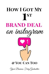 How I Got My First Brand Deal On Instagram As A Micro-Influencer