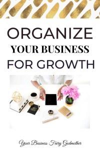 how do you organize your business