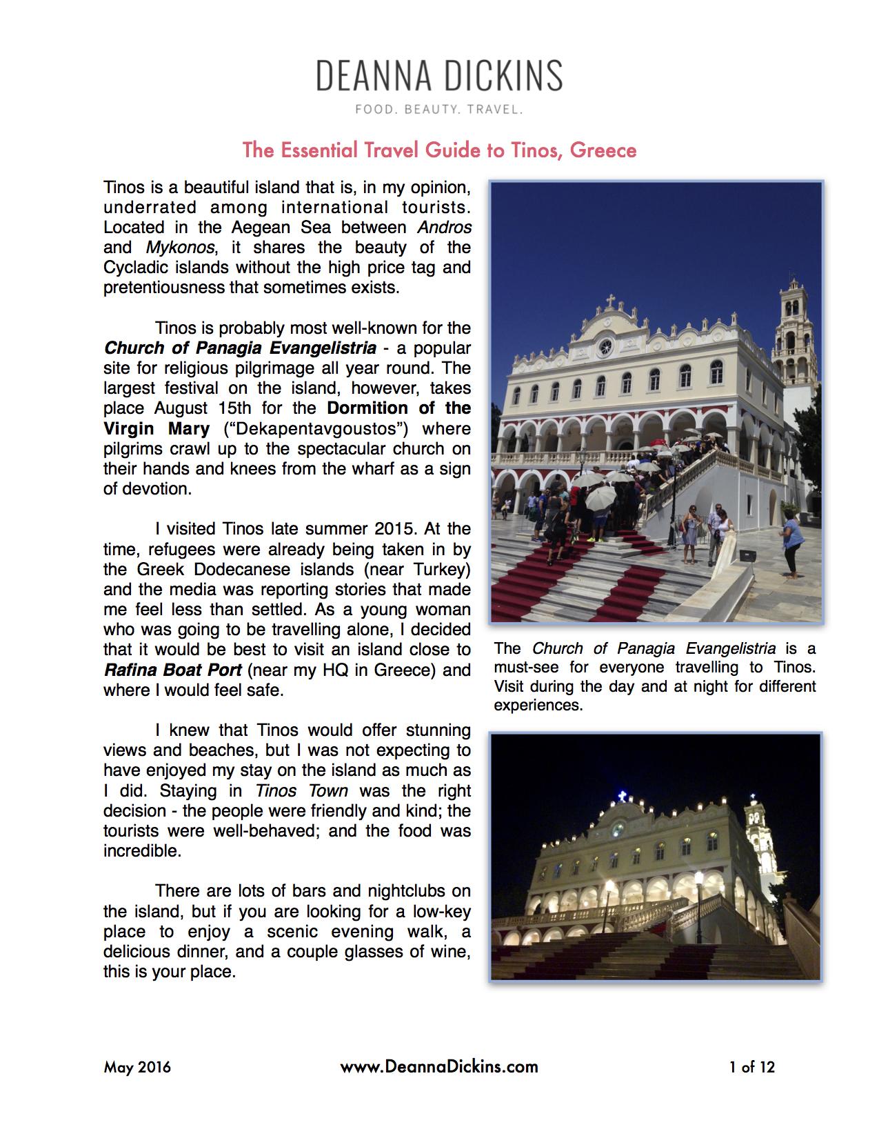the essential travel guide to tinos greece u2013 deanna dickins