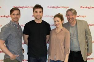 The Cast of Shining City @ BSC: Mark H. Dold, Patrick Ball, Deanna Gibson, Wilbur Edwin Henry