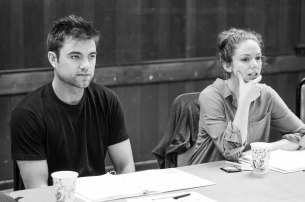 """1st Table Read of """"Shining City"""" @ BSC. Patrick Ball &; Deanna Gibson"""