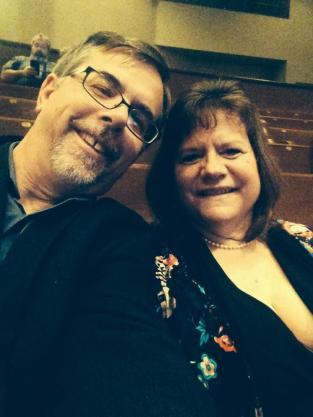 Dean & Anna in Nashville @ Ryman Auditorium for Amy Grant & Vince Gill Christmas Concert