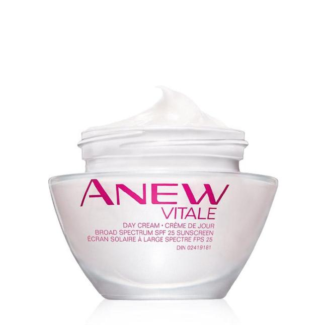 Avon's Anew Vitale Day Cream Broad Spectrum SPF 25