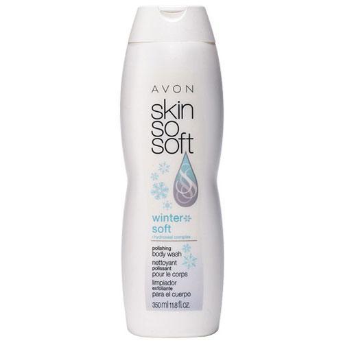 Avon's Skin So Soft Winter Soft + Hydroseal Complex Polishing Body Wash
