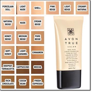 Avon True Color Ideal Nude Liquid Foundation