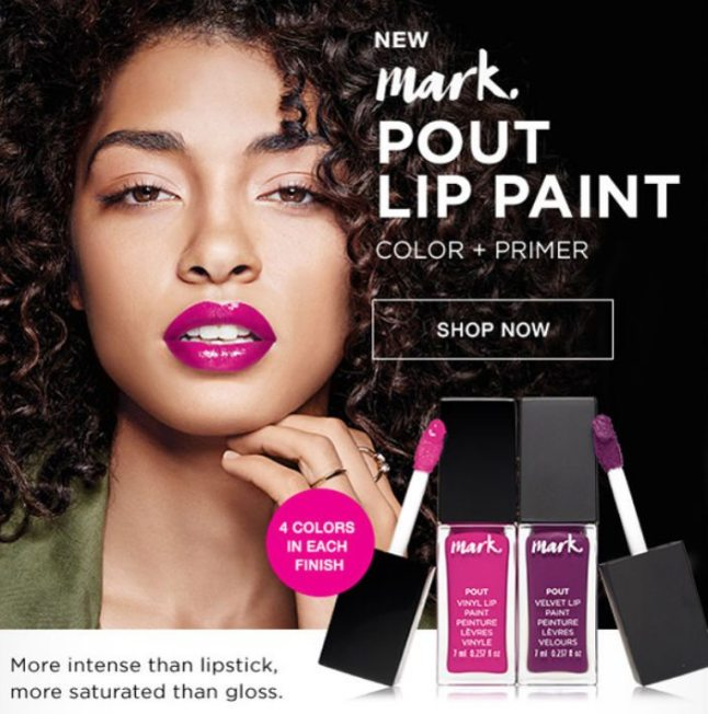 mark. By Avon Pout Lip Paint
