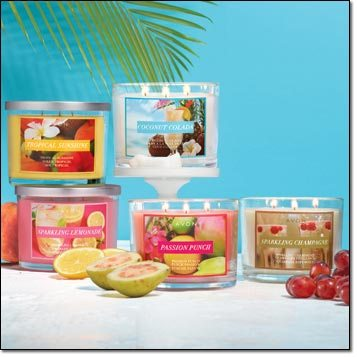 Summer Home Fragrance Collection