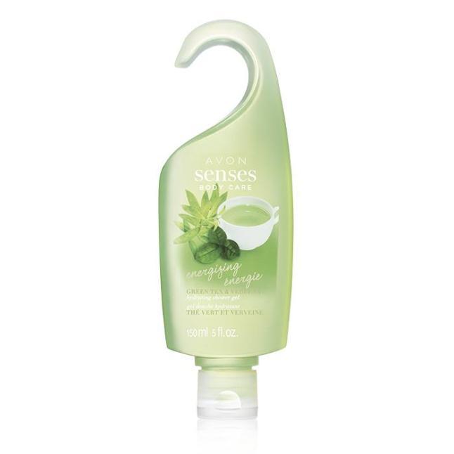 Avon Senses Energizing Green Tea & Verbena Hydrating Shower Gel