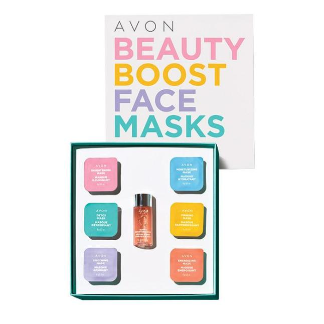 Avon Beauty Boost Face Masks